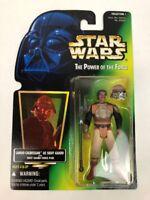 Star Wars Lando Calrissian as Skiff Guard POTF Action Figure 1996 Kenner - New