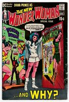 WONDER WOMAN #191 Vintage BRONZE AGE Comic 1970