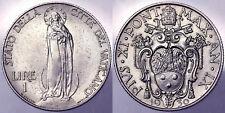 1 LIRA 1930 PIO PIUS XI CITTA' DEL VATICANO VATICAN CITY #6346A