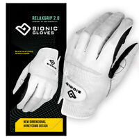 Bionic Golf Glove - RelaxGrip 2.0- Mens Left Hand - Medium - All Weather