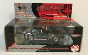 2002 PAUL MORRIS SIRROMET HOLDEN VX COMMODORE 1:43 SCALE MODEL CAR MOTORSPORT