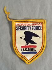 U.S. Mail Postal Service SECURITY FORCE Shield Cloth Sew On Patch