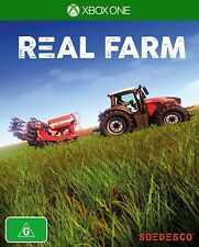 Real Farm Open World Farming Sim Farmer Simulator Game Microsoft XBOX One XB1