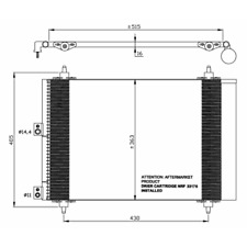 Capacitor Air Conditioning - NRF 35843