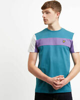 Lyle and Scott Men Panel T-Shirt - Cotton
