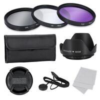 Kit de filtres de lentilles de 77mm pour camera 77mm - comprend sac de tran S5Z2