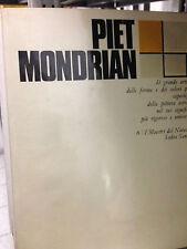1969 PIET MONDRIAN - A CURA DI ITALO TOMASSONI - MAESTRI DEL NOVECENTO - SANSONI