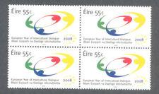Ireland -Intercultural Dialogue mnh block 4 (2008) 1887