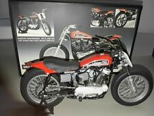 Harley Davidson XR750 1972 1:10 famous US race motorcycle 8 in. long w/ box COA