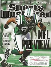 NEW YORK JETS CALVIN PACE SPORTS ILLUSTRATED WAKE FOREST DEAMON DEACONS 60 SACKS