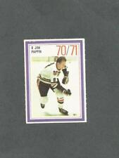 1970-71 Esso Hockey Stamp Jim Pappin Chicago Black Hawks