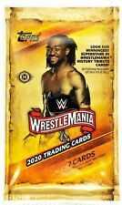 2020 Topps WWE Road to Wrestlemania Hobby Pack 7 Cards Per Pack