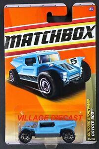 2011 Matchbox #81 Coyote 500™ LIGHT BLUE / DRAGON OFF-ROAD TEAM / MOC