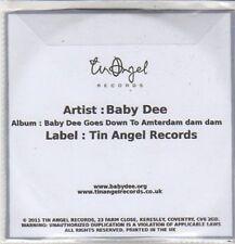 (CZ688) Baby Dee, Baby Dee Goes Down to Amsterdam Dam Dam - 2011 double DJ CD