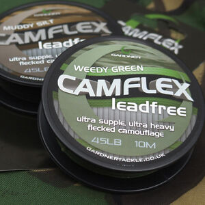 Brand New Gardner Camflex Leadfree - All Colours Available