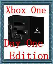 ★★Brand NEW Microsoft Xbox One - 500 GB Black Console - DAY ONE Edition★★