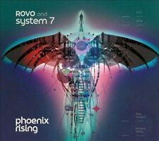 Phoenix Rising [Digipak] by Rovo/Steve Hillage/System 7 (CD, Oct-2013, Purple...