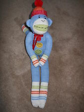 "2007 ""Casey"" Large 21"" Monkeez Sock Monkey...Excellent Condition Rockford IL"