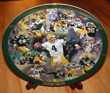 Big Brett Favre Green Bay Packers #4 Quarterback Plate