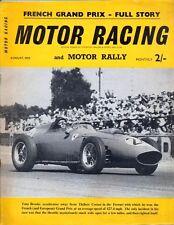 Motor Racing - BRSCC journal - magazine - August 1959