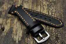 Handmade Leather Mens watch strap 16mm 18mm 20mm 21mm 22mm 24mm 26mm watch band