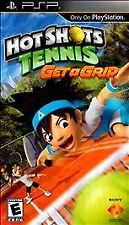 Hot Shots Tennis Get a Grip  (PlayStation Portable, 2010) Rated Everyone  NEW