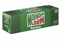 NEW Mtn Dew REAL SUGAR 2020 Mountain Dew Cans - FAST FREE SHIPPING -