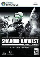 Video Game PC Shadow Harvest Phantom Ops (PC, 2011) NEW