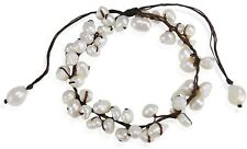 Freshwater Pearl Pull Anklet Summer Breeze Beaded White Cultured