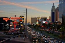 Las Vegas Strip Skyline Cityscape United States of America Photograph Picture