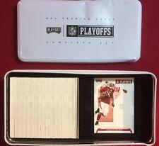 2006 Playoff NFL Playoffs Football Complete 150 Card Set in Tin $50BV Brady