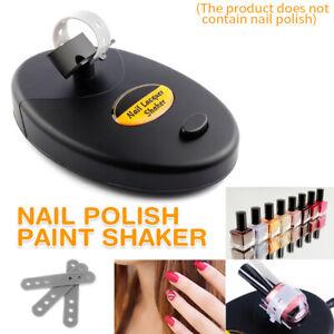Gel Nail Polish Paint Shaker Manicure Machine Tools For Nails Glue Tattoo Ink UK