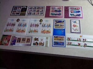 COOK ISLANDS Stamps MINI SHEET OG Never Hinged Lot Collection #2