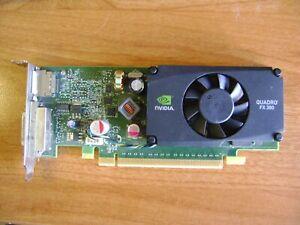 NVIDIA QUADRO FX 380 Low-Profile 512MB PCI-e Graphics Card with DVI / DP outputs