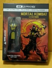 Mortal Kombat Legends: Scorpion's Revenge [4K Ultra HD+BluRay+Digital] Figurine