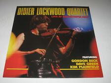 didier lockwood quartet  -  Live at the olympia hall       Vinyle 33T