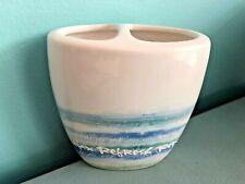 Kathy Davis Ceramic Splash Tooth Brush Holder Relax Refresh Renew Creative Bath
