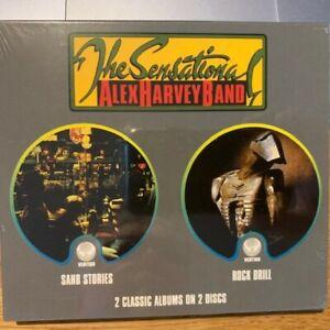 Sensational Alex Harvey Band - Sahb Stories / Rock Drill - Double CD - New