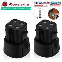2PCS 4.8V 3000mAh Battery for Dremel 5000755-01 755-01 MiniMite 7300 Rotary Tool