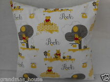 Winnie The Pooh New Print Nursery Cushion Cover - 40cm x 40cm Perfect Gift!!