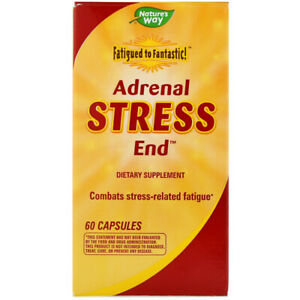 Adrenal Fatigue Stress Formula 60Caps | Tyrosine Vitamin B6 C | Licorice Betaine