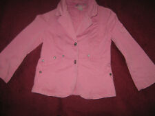 Jeansjacke Jacke Blazer H&M Dubster Gr. 122, rosa, Steinchen, süss, reinschaun