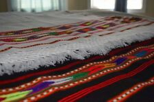 Handmade traditional Afghan Patu Patoo Pasthun Man Chadar Warm Wool Shawl