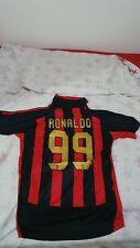 AC Milan 2007/2008 Home Football Shirt Jersey # Ronaldo