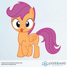 My Little Pony Scootaloo Vinyl Decal Wall Sticker Kids Purple