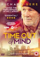 Time Out of Mind DVD (2016) Richard Gere, Moverman (DIR) cert 15 ***NEW***