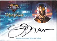 Cryptozoic Supergirl Auto Autograph Card Jeff Branson Master Jailer JB2