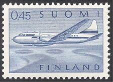 Finland 1958 (1963) Planes/Aircraft/Aviation/Transport/Airmail 1v (s333u)