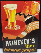 VHTF COLLECTIBLE HEINEKEN BEER POST CARD