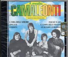 CAMALEONTI CD Il meglio  MADE in ITALY nuove registrazioni 1995 SIGILLATO sealed